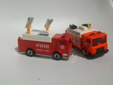 MATCHBOX ACTION SYSTEM MACK AUXILIARY POWER TRUCK FIRE ENGINE PROMOTIONAL LOT