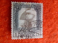 ITALY COLONIES LIBYA STAMP scott 22a  1c used