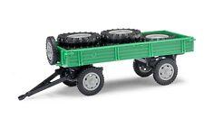 Busch/Mehlhose 210010202,Remorque T4 avec Charger,Vert,H0 Modèle de voiture 1:87