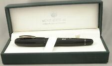 Monteverde Mega Black & Gunmetal Fountain Pen - Fine Nib - New!