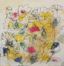 Blumen Flowers 40x40 Sonja Zeltner-Müller Acryl/LW Kunstmüllerei Düsseldorf