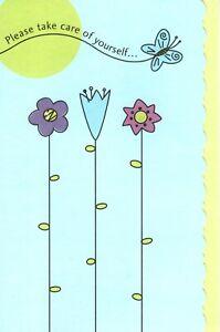 Get Well Soon Butterfly Butterflies Garden Gardening American Greeting Card