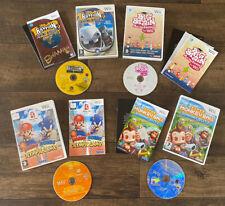 Nintendo Wii Games Bundle Super Monkey Ball Mario Olympics Rayman Brain Academy