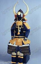 Iron & Silk Japanese wearable Rüstung Samurai Armor suit Horns Helmet 006