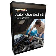 Learn Automotive Electricity Car Mechanics Training Course Manual Guide