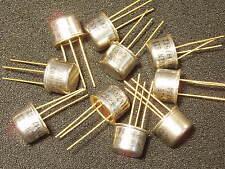 Qty 10: 2N1613 Transistor Mil-Spec JAN2N1613 Gold Leads New NOS Guaranteed Xlnt!
