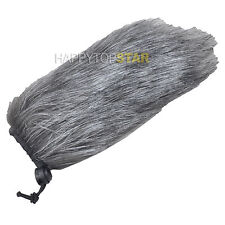 Gray Fur Windscreen WindCutter for Shotgun Microphone ECM-CG50 VideoMic ECZ-990