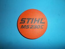 New Stihl Recoil Starter Name Plate Ms230C 1123 Series Oem Ms230C