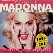 The Complete Audio Biography [Box Set] by Madonna (CD, May-2003, Chrome Dreams (USA))