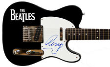RARE! BEATLES RINGO STARR SIGNED TELECASTER GUITAR! * CAIAZZO & PERRY COX LOA'S