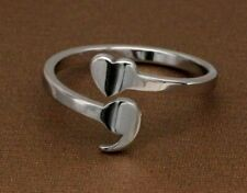 Semicolon Heart Ring Story Isn't Over Yet Stainless Steel Size 6,7,8,9 Fast Ship