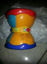 "Leap Frog ""LEARNING DRUM"" ;musicial & lights up; English /Spanish"