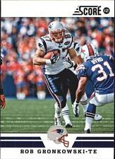 2012 Score Glossy #156 Rob Gronkowski Patriots