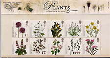 GB 2009 ACTION for SPECIES PLANTS PRESENTATION PACK No.427