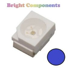 10 X Azul plcc-2 (Led Smd Smt 3528/1210) - Ultra Brillante-Uk - 1st Class Post