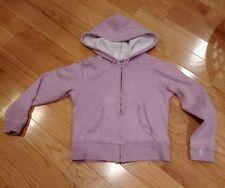 Womens size small champion hooded sweatshirt purple full zip up