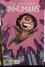SKOTTIE YOUNG VARIANT COVER UNCANNY INHUMANS ANNUAL  #1  VF
