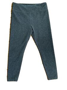 LOU&GREY Women's Soft Fleece Legging L Gray