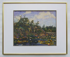 """Tom Thomson, Group of Seven """"The Lily Pond"""" in Glossy Gold frame"""