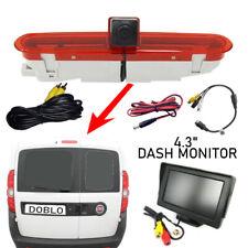 Reversing Reverse Camera & Monitor Suitable for Fiat Doblo Van 2010 - Onwards