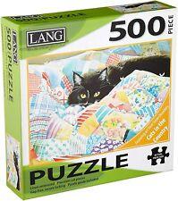 GRANDMA'S QUILT - LANG ART - 500 PIECE JIGSAW PUZZLE - BRAND NEW - 5039160