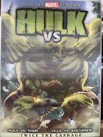 Hulk Vs. Thor Hulk Vs Wolverine Twice The Carnage (DVD, 2009)