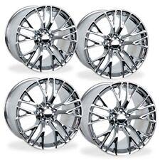 18x8.5/19x10 Chrome Corvette C7 Z06 Style Wheels Fits Chevrolet Rims Staggered