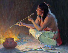 Course Irving Eanger Arrow Maker Canvas 16 x 20   #5973