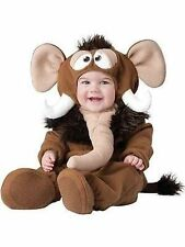 Brand New Incharacter Wee Wooly Mammoth Infant Child Baby Halloween Costume Med