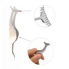 False Eyelashes Clip Applicator Extension stainless steel Tweezer Nipper Make uP