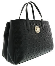 New VERSACE COLLECTION Large Tote//Shopping Bag  Black No dust bag included