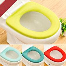 Bathroom Toilet Seat Closestool Washable Soft Warmer Mat Cover Pad Cushion New