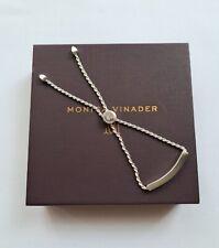 Monica Vinader Liner Chain Bracelet Sterling Silver