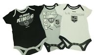 Los Angeles Kings NHL Official Reebok Infant Baby Size 3 Piece Creeper New