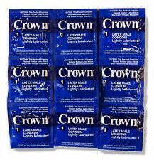 Crown Skinless Condoms by Okamoto .001 Ultra Thin Exp. 02/2021 30pcs.
