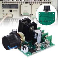 12V-40V 10A PWM DC Motor Speed Controller Dimmer Voltage Regulator with Knob Kit