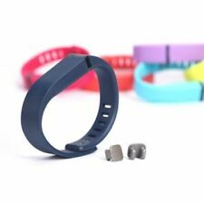 Us New Soft Silicone Band Watch Wrist Strap With Clasps For Fitbit Flex S / L se