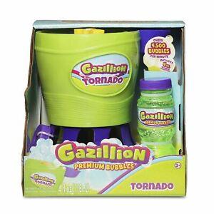 Gazillion Tornado Bubble Machine Bubble Toy GREEN Brand New