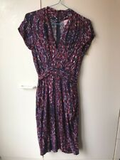 Leona by Leona Edmiston Diamond Print Dress Size 8