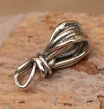Artisan Wire Wrap Sculpted Bail // Sterling Silver Bails // FN-748