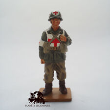 Figurine Del Prado soldat plomb Medical 94th Infantry Division USA 1945