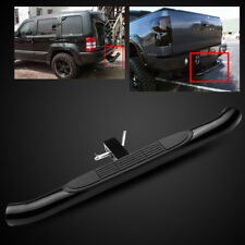 "Universal 2"" Receiver 37""/3"" Tube Black Trailer Tow Hitch Step Bar/Bumper Guard"