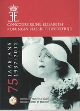 2 Euro commémorative de Belgique 2012 Brillant Universel (BU)-Concours Elisabeth