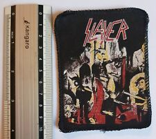 Slayer- VINTAGE printed patch - Free Shipping !!!