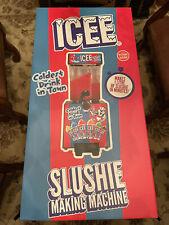 Iscream Icee Slushie Making Machine For Home Counter Top Use Brand New