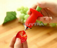 Tomato Strawberry Stem Leaves Huller Remover Removal Fruit Corer Kitchen Tool ve