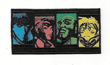 """Cowboy Bebop """"Main Characters"""" Embroidered Patch -new"""