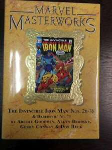 MARVEL MASTERWORKS VARIANT HC VOL 165 1ST EDITION IRON MAN LIMITED 960 SEALED