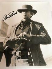 "Clint Eastwood B&W 8""x10"" Autographed Photo ""Unforgiven"""