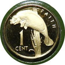 elf Guyana 1 Cent 1976 Proof Manatee
